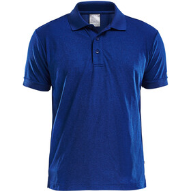 Craft Classic Polo Pique Fietsshirt Korte Mouwen Heren, deep
